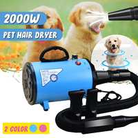 2000W 220V~240V Dryer Blower Variable Speed Portable Dog Cat Pet Blow H Low Noise Hdryer Grooming Dryer Cheap Pet H Dry