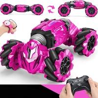 2,4 GHZ RC Auto Radio Geste Induktion Musik Licht Twist Hohe Geschwindigkeit Stunt Fernbedienung Off-Road Drift Fahrzeug Auto modell Spielzeug