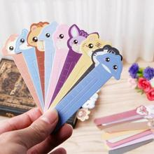 30Pcs/lot kawaii Bookmark Cute Animal Farm Paper Bookmark Book Holder Multifunction Bookmarks for kids School Stationery Supplie 30pcs lot cute kawaii paper bookmark vintage japanese style book marks for kids school materials
