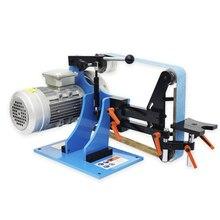 220V / 380V Abrasive Belt Machine Sander Belt Grinder Electric Stepless Speed Regulation Polisher Woodworking Sanding Machine