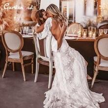 Пикантная обувь с низким вырезом на спине кружевное свадебное