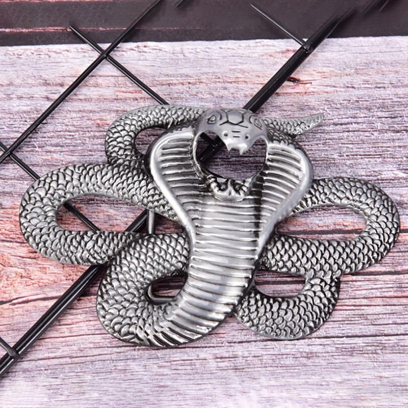 Fashion Snake Belt Buckle Denim Cowboy Retro Styling Metal Belt Buckle Men Jean's Accessories Dropshipping