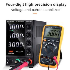 DC источника питания регулируемый 4 цифры лаборатории источник питания 30В 10A 60V 5A переменного тока импульсный источник стабилизированного ис...