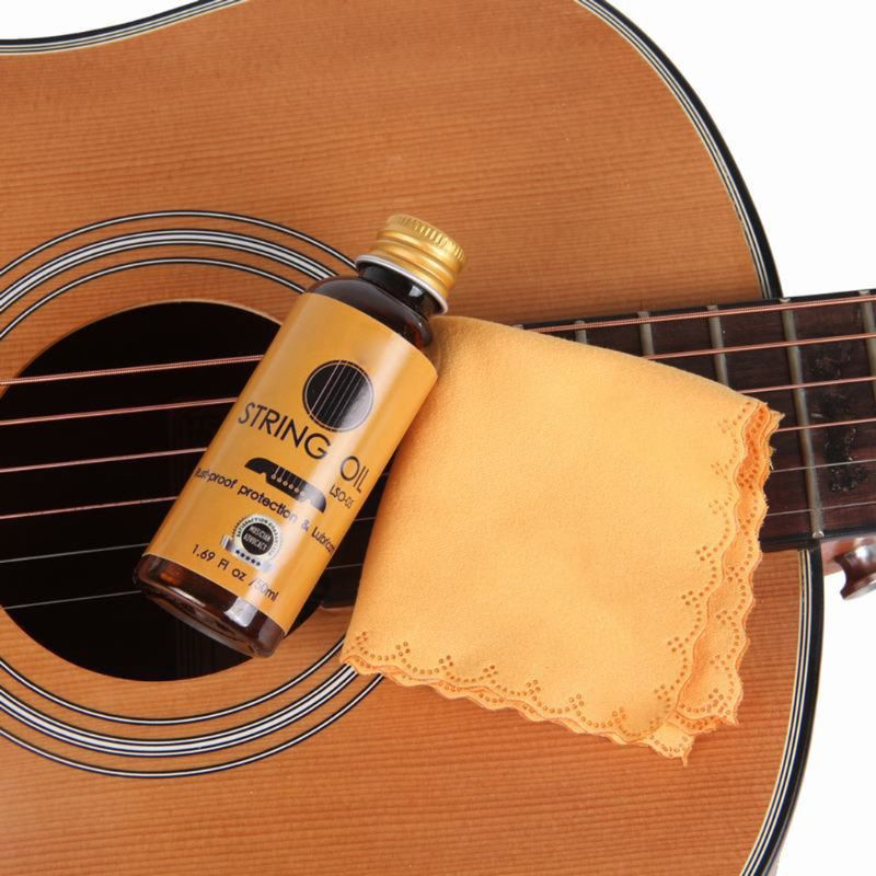 50ml String Oil Rust-proof Protection Lubricant Guitar Stringed Instrument Lubrication And Maintenance
