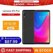 Lenovo K5 Pro смартфон с 5,99-дюймовым дисплеем, восьмиядерным процессором Snapdragon 636, ОЗУ 4 Гб, ПЗУ 64 ГБ Промо Коде:PRAZDNUEM10 (RUB 10000 — RUB1000)