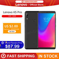 Original Global Version Lenovo K5 Pro 4GB RAM 64GB Snapdragon 636 Octa Core Four Cameras 5.99 inch 4G LTE Smartphone