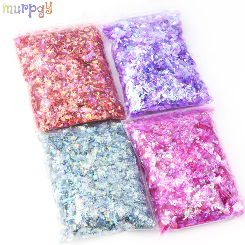 Big Bag Shiny DIY Slime Additives Soft Slime Beads Glitter Slime Supplies Slime Materials Clay Charms Accessories Toys For Kids