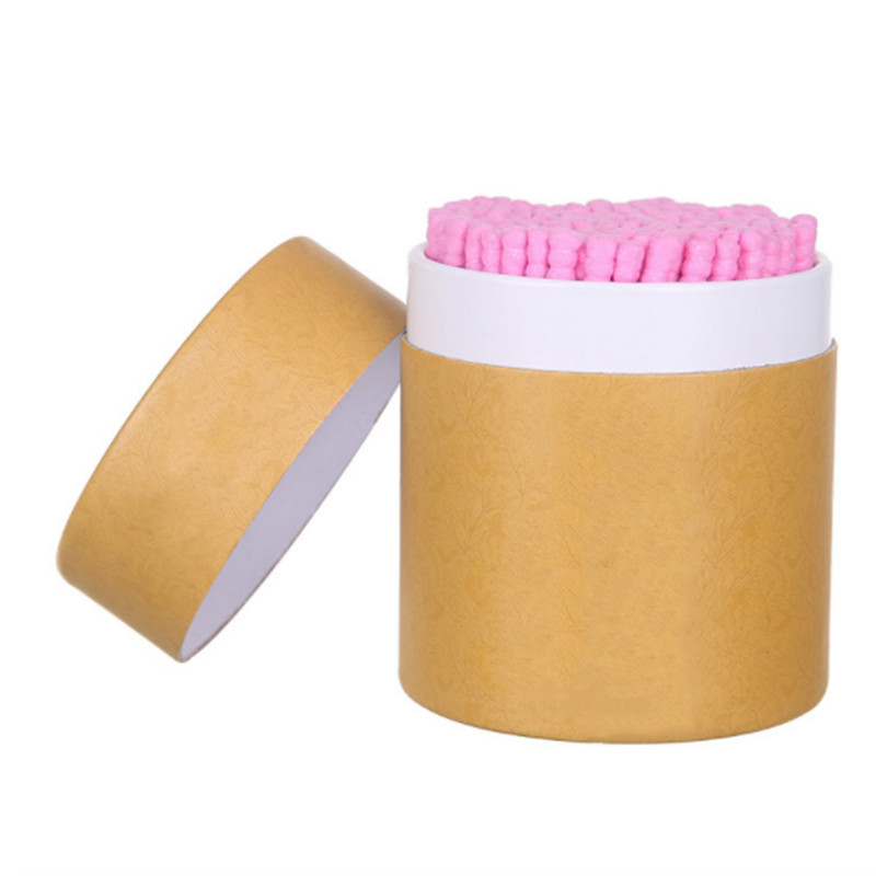 200pcs Bamboo Cotton Swab Wood Sticks Soft Cotton Buds Cleaning Of Ears TamponsMakeup Tools Health Beauty