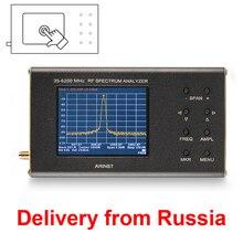 נייד RF ספקטרום Analyzer Arinst ספקטרום Explorer SSA R2 (35 MHz   6200 MHz) עם מסך מגע