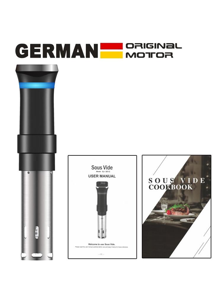 Новинка 2021, Немецкая оригинальная технология, точный вакуумный кухонный аппарат для приготовления пищи под вакуумом, устройство для приготовления пищи и вакуумная система герметизации