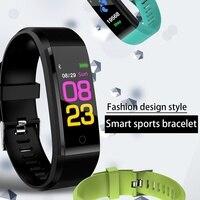 0.96 Inch Color Screen 110mah B05 Sport Pedometer Calorie Counter Health Monitoring Bluetooth Sports Smart Pedometer Watch