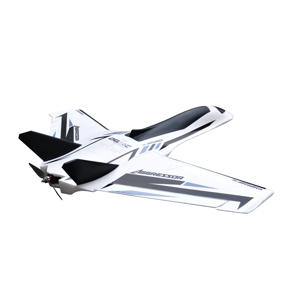 Aggressor 1200mm Wingspan EPO FPV Aircraft Swept Forward Wings RC Airplane Kit/PNP Version Model Plane Toys image