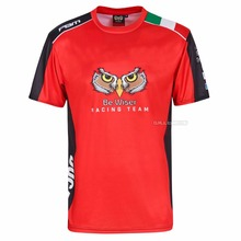 Motorcycle T-Shirt Jersey DUCATI Outdoor Cycling for Quick-Drying Polyester
