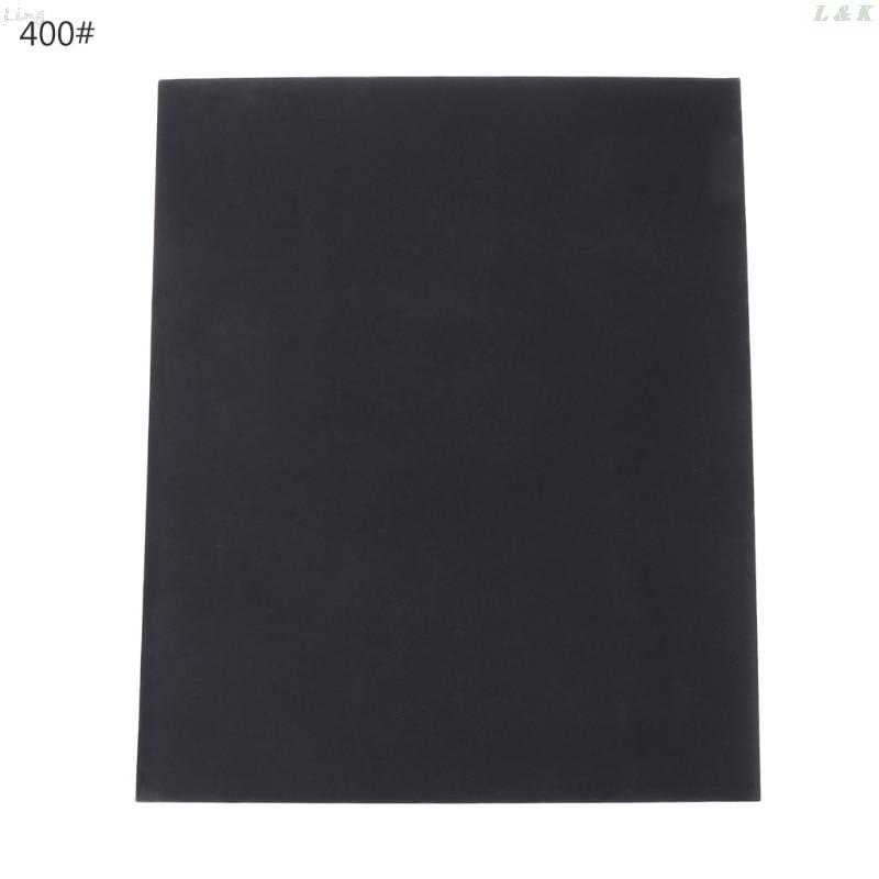 100/240/400/600/1000/2000 Grit Aluminium Oxide Wet & Dry Abrasive Sanding Paper U50A