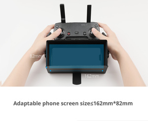 Image 5 - PGYTECH Smartphone צג שלט רחוק מכסה המנוע כיסוי שמש צל שמש הוד עבור DJI Mavic מיני/Pro/אוויר/פנטום 4/ניצוץ בקר