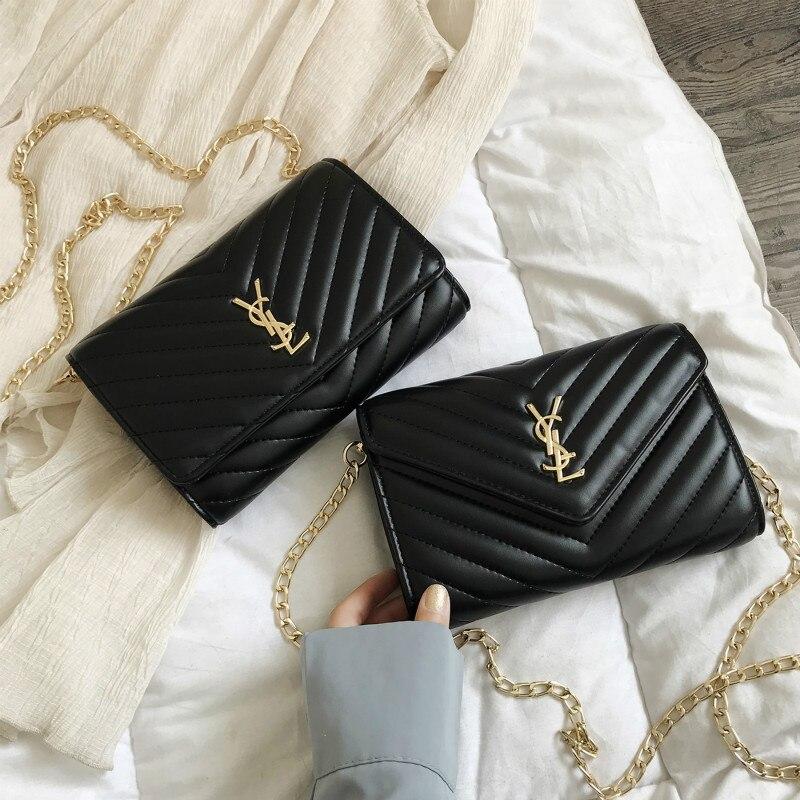 Elegant Ladies Bag New 2019 Fashion Chain Shoulder Bag Ladies Summer Trendy Small Square Women Bag Womens Handbags And Purses