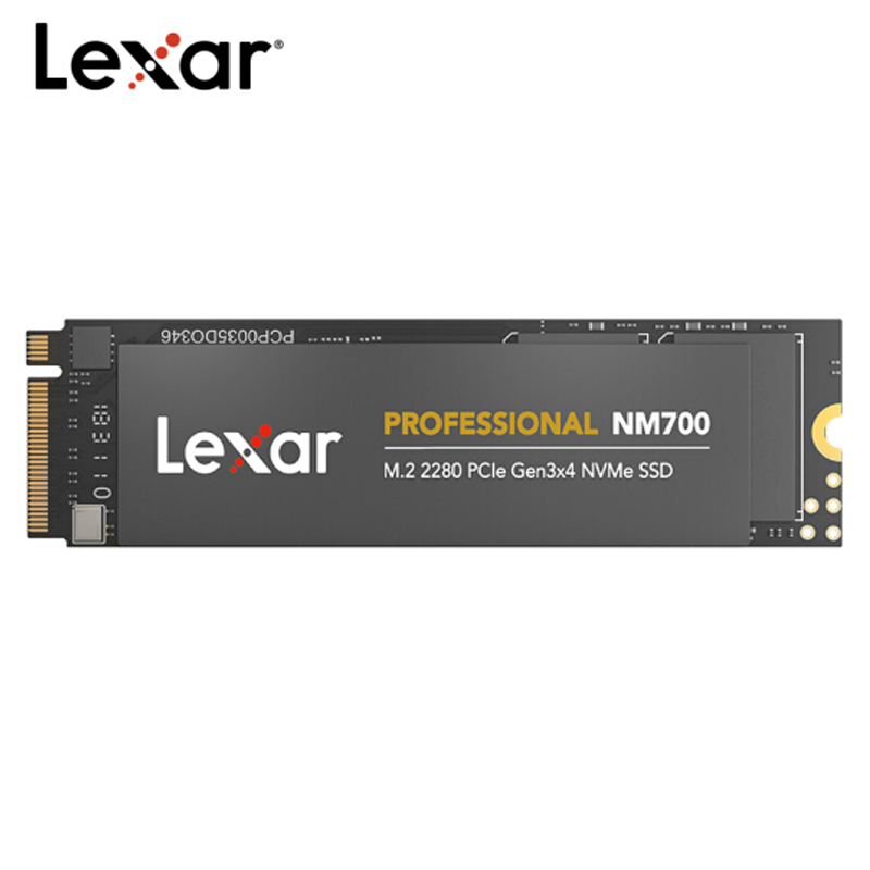 100% Original Lexar NM700 1TB 512GB 256GB SSD NVMe PCIe Gen3x4 M.2 2280 TLC HDD Internal Solid State Drive Laptop