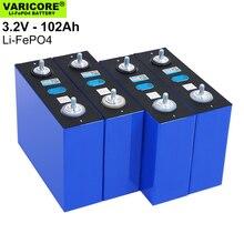 4 3.2V 102Ah LiFePO4 Bộ Pin Lithium Sắt Phospha DIY 4S 12V 24V 304A Xe Máy xe Ô Tô Điện Biến Tần Năng Lượng Mặt Trời Pin