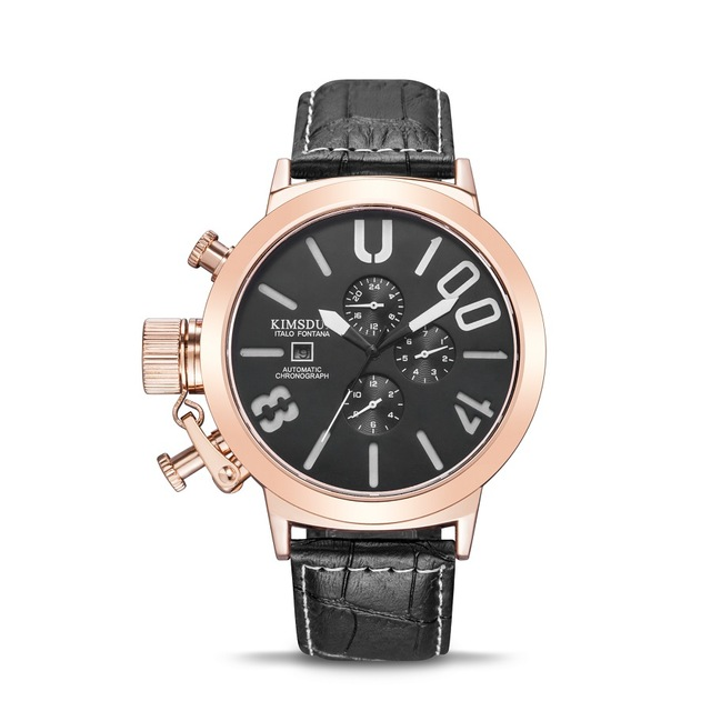 Automatic mechanical watch brand KIMSDUN Fashion Waterproof Watches Men Luxury Watch watches mens Wristwatch Wristwatches