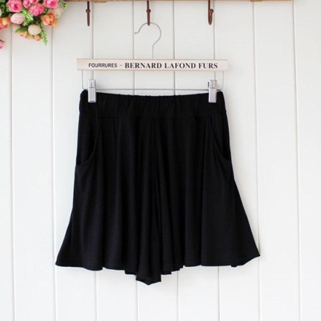 KANCOOLD Pants Fashion Ladie Leisure Time Pure Color Easy Motion Shorts Leggings Pants Trouser New Pants Women 2019DEC26