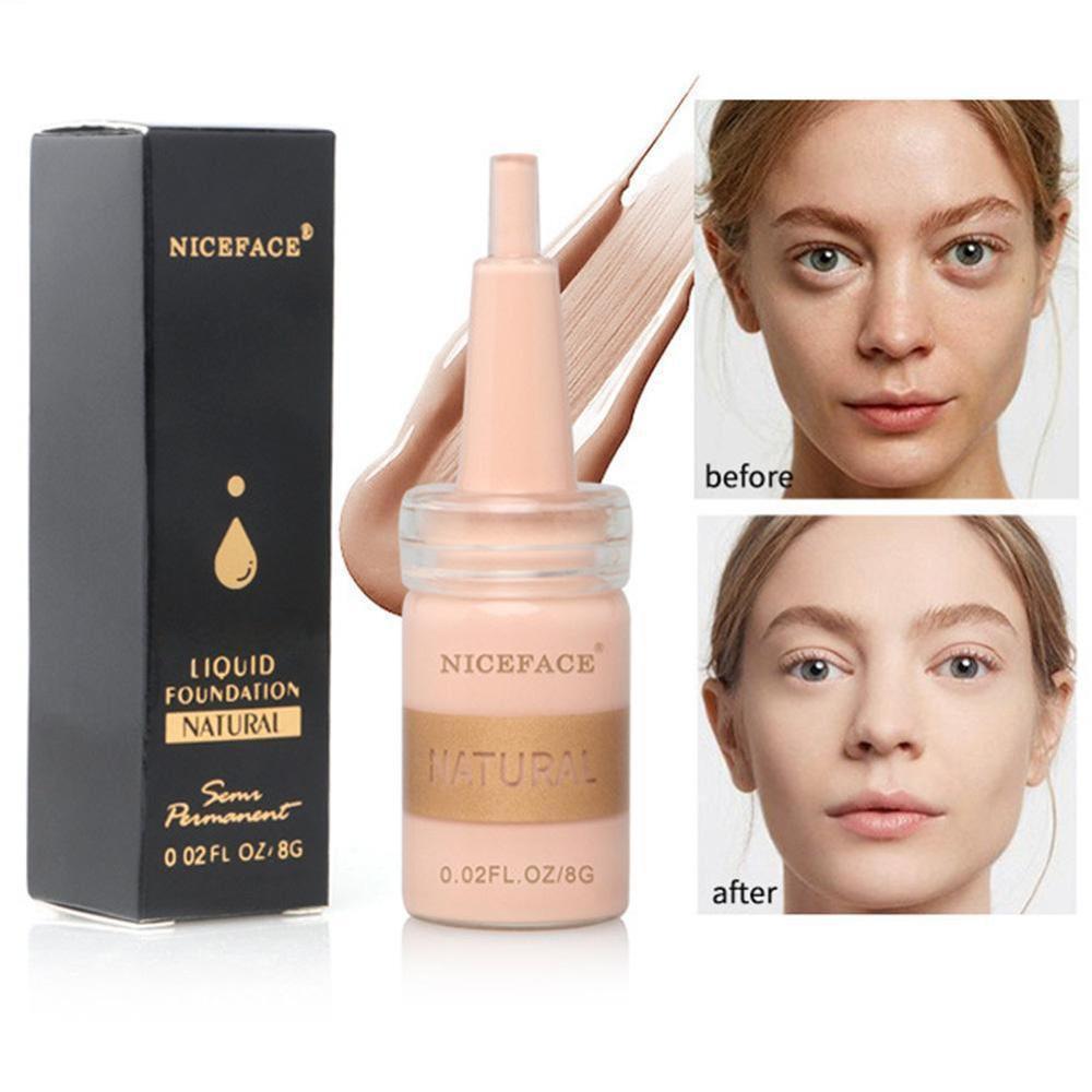 30g CC Skin Glow Cream Meso White Brightening Cream Shrink Pores Repair Serum Natural Nude Concealer Face Residency Foundation