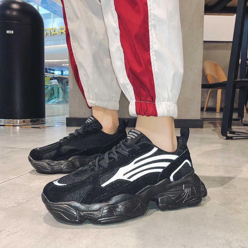 2020 sonbahar yeni Trend erkek koşu ayakkabıları rahat açık kaymaz erkek spor ayakkabıları yüksek kalite erkekler Sneakers Zapatos Hombre