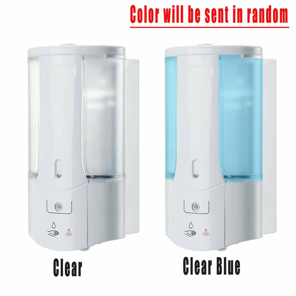 400ml Automatic Soap Dispenser Wall Mounted Sensor Soap Dispenser Contactless Hand Sanitizer Shampoo Container Home Bathroom 400ml Automatic Soap Dispenser Wall-Mounted Sensor Soap Dispenser Contactless Hand Sanitizer Shampoo Container Home Bathroom