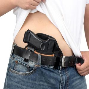 Image 5 - Kosibate Jacht Holster Pu Lederen Verborgen Voor Pistool Glock 17 19 23 32 Sig Sauer P250 P224 Beretta 92 taurus Pannenkoek Iwb