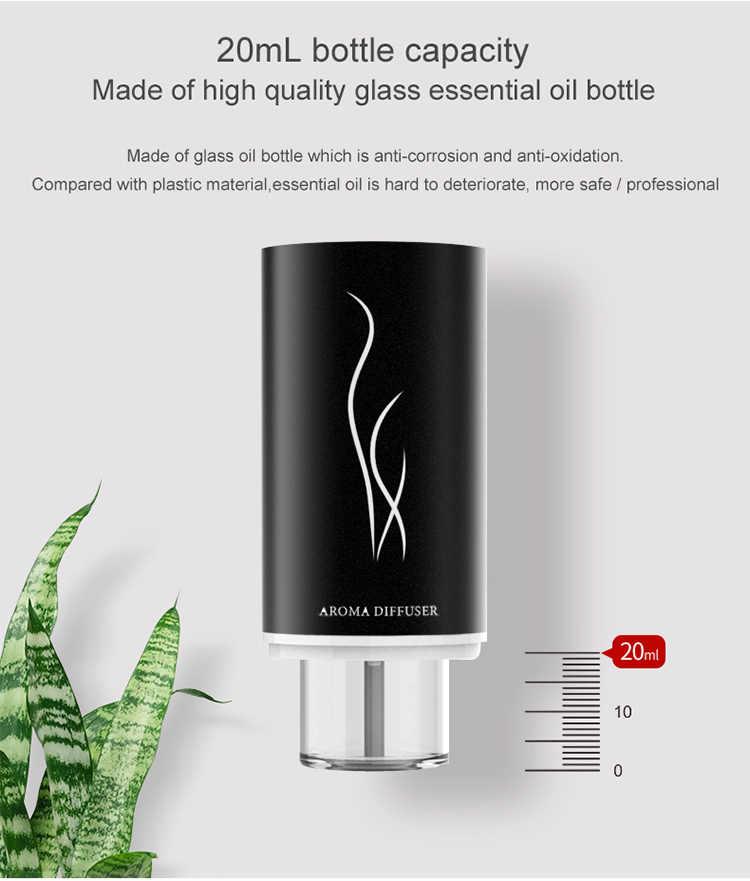 エッセンシャルオイルカーディフューザー空気清浄機水なしオイルネブライザー空気清浄駆動緩和疲労自動車インテリアアロマ Perfum