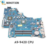 NOKOTION For HP 15 BW laptop motherboard A9 9420 CPU TM 520 GPU DDR4 CTL51 53 LA E841P 924724 001 924724 501 924724 601