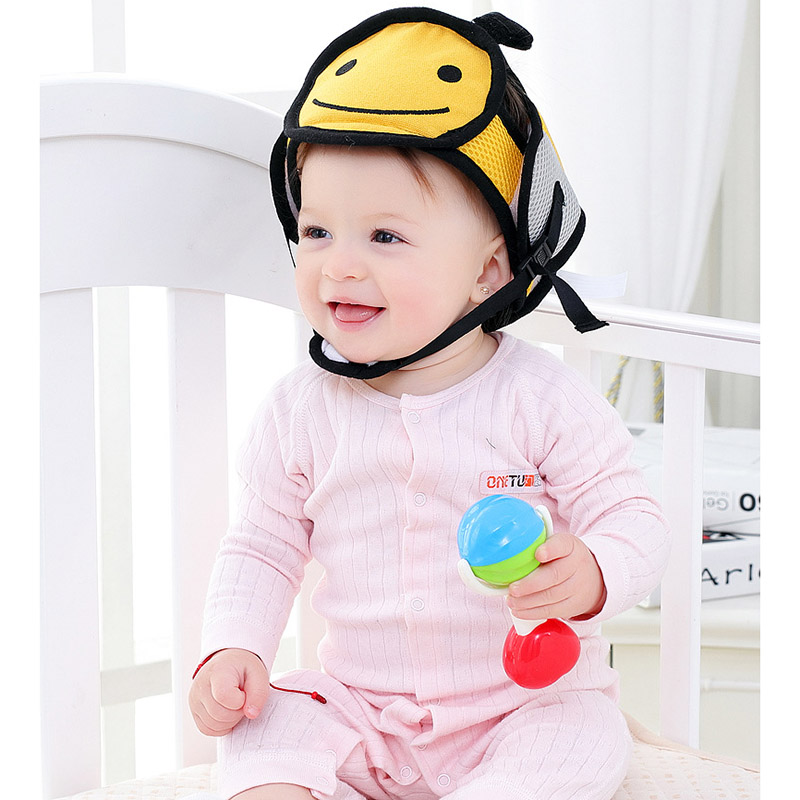 JJOVCE Baby Anti fall Head Protection Cap Baby Toddler Anti collision Hat Shatter resistant Hat Child Safety Helmet Head Cap Hot in Movies TV from Toys Hobbies