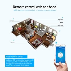Image 5 - SONOFF Bridge RF 433MHZ Wifi Wireless Replacement DW1 Door Window Sensor PIR2 Motion Sensor Alarm System Security Home Google