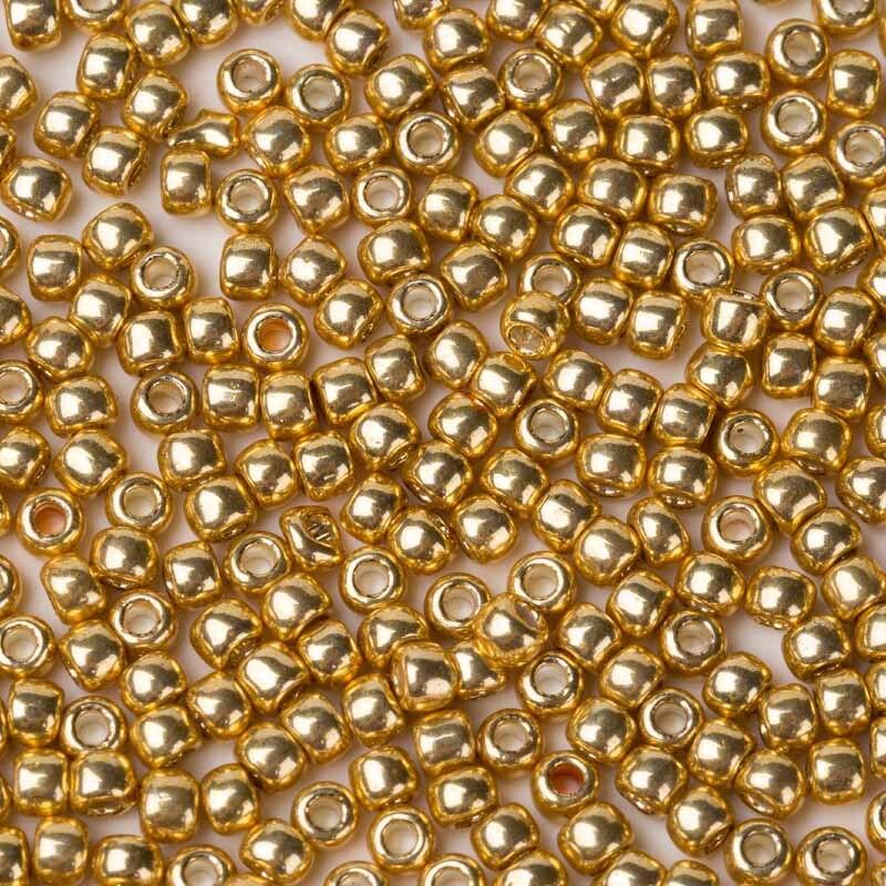 Круглые бусины Taidian Toho, японские Стеклянные Бусины 1,5 мм, 2,0 мм, 3,0 мм, оцинкованные золотые бусины Permafinish, украшения из бисера