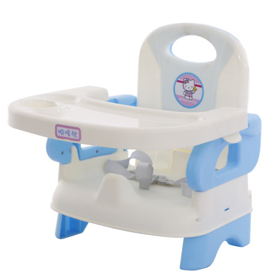 Multifunctional Babies Feed Chair Dining Lunch Chair Safety Belt For Feeding Folding Children Portable Baby High Chair