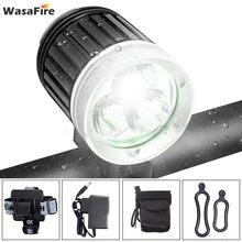 WasaFire 3 * XML T6 LED Fahrrad Licht 4000LM Fahrrad Front Licht Radfahren Scheinwerfer MTB Kopf Lampe + 8,4 V 18650 batterie Pack + Ladegerät