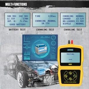 Image 3 - Autool BT360 Auto Batterij Tester 12 V Batterij Diagnostische Test Digitale Automotive Multi Taal 12 Volt Batterij Analyzer Voor auto