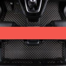цена на lsrtw2017 luxury fiber leather car interior floor mat for great wall haval h1 h3 h5 h6 h7 h8 h9 2010-2020 M4