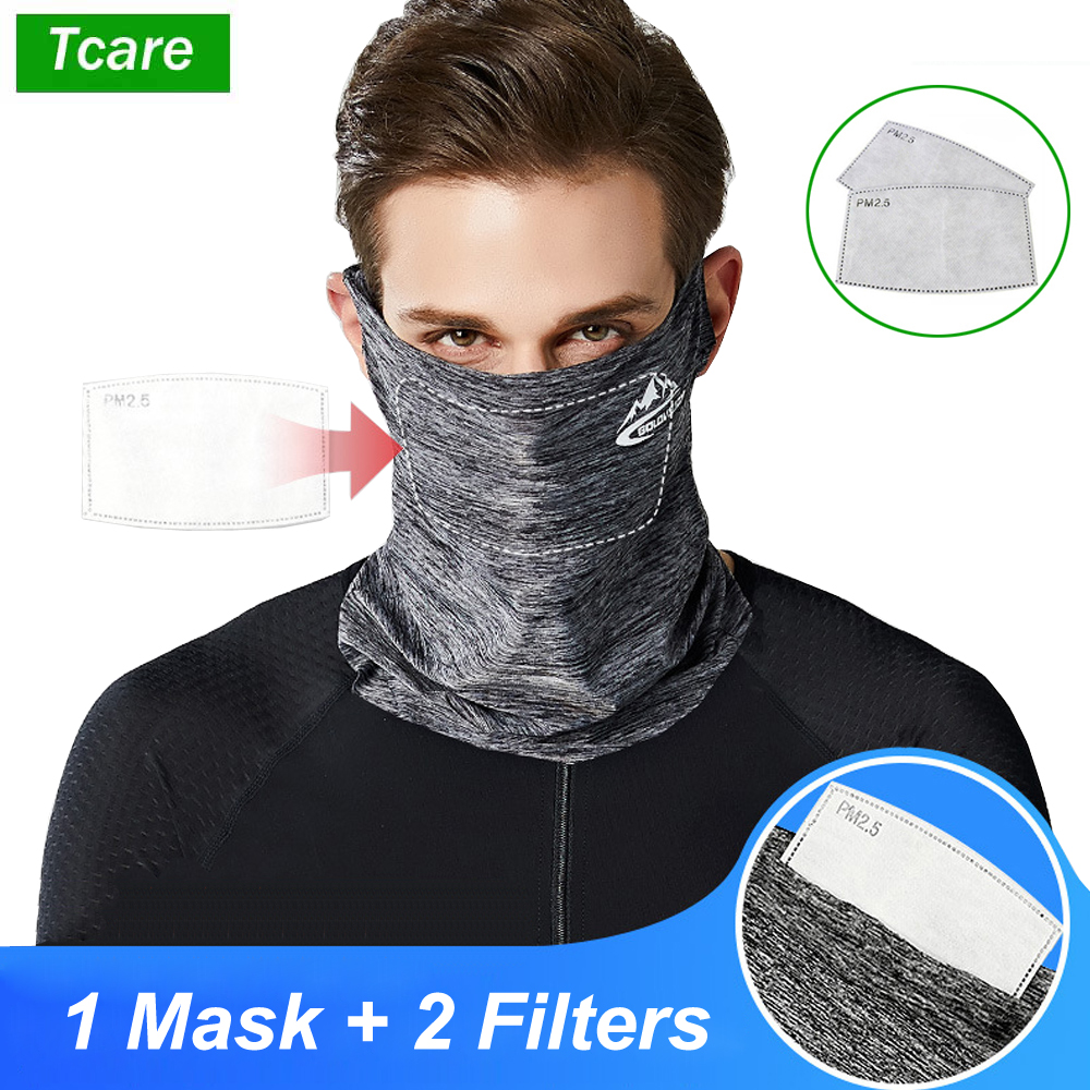 Half Face Bike Riding Ice Silk Anti Pollution Safety Mask With PM2.5 Activated Carbon Filter, Dust Windproof mask with Ear Hook|Masks|   - AliExpress
