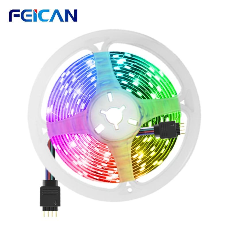 Taśma LED Light 5M 5050SMD taśmy RGB 4pin, które można kroić taśma LED podświetlenie dla TV do salonu podświetlenie