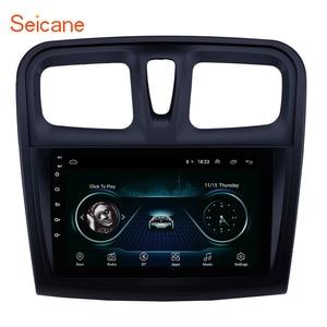 "Image 1 - Seicane reproductor Multimedia para coche Renault Sandero, 2Din, 9 "", Android 9,1, GPS para coche, reproductor Multimedia para 2012, 2013, 2014, 2015, 2016, 2017"