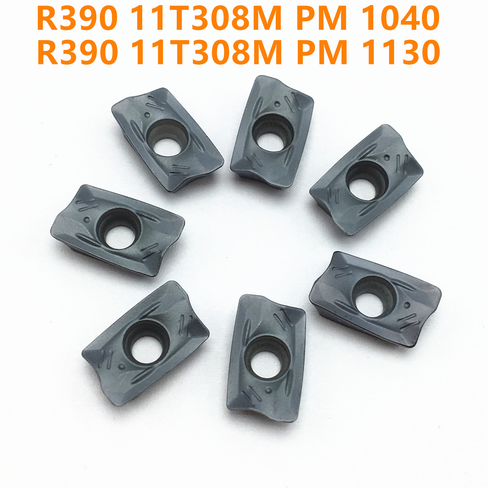 Carbide R390 11T304M 11T308M PM 1010/1025/1030/1130/4240 Carbide Blade Metal Turning Tool CNC Milling Machine Turning Tool R390