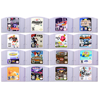 64 Bit Game Sport Games Video Game Cartridge Console Card English Language US Version for Nintendo image