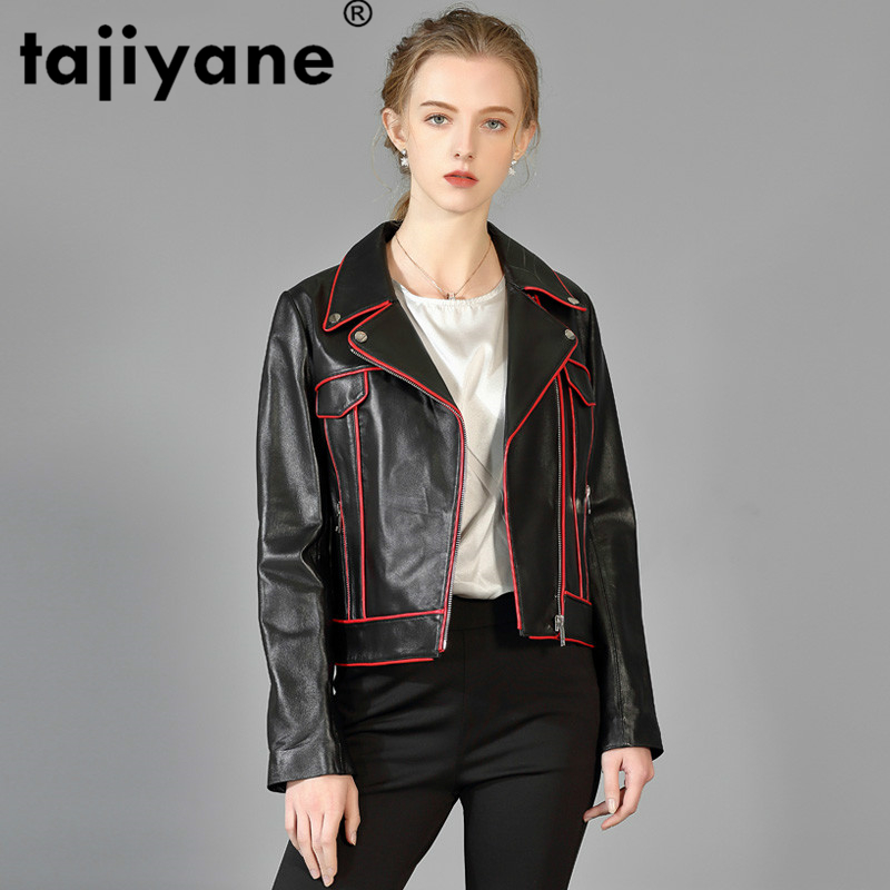 2020 Genuine Leather Jacket Women Real Leather Jackets Woman Sheepskin Coat Korean Spring Autumn Coats Slim Short Jackets PY17