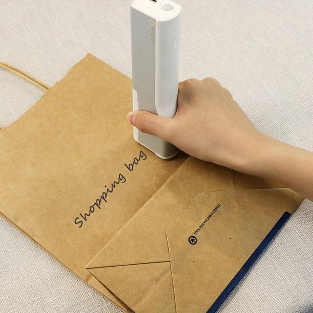 Drukarka atramentowa drukarka do długopisów przenośna Mini wymienna inteligentna drukarka ręczna drukarka długopis t shirt drukarka do druku tatuaż Pan Impresora|Drukarki|   -