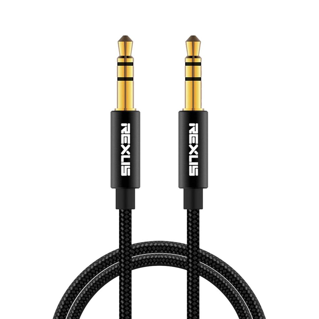 Аудиокабель с разъемом 1/1, 8/3/5/7, 6/10 м, 3,5 мм, аудиокабель из ткани, Aux для iPhone, автомобильный провод для наушников, провод, шнур для iPhone, для Samsung #...
