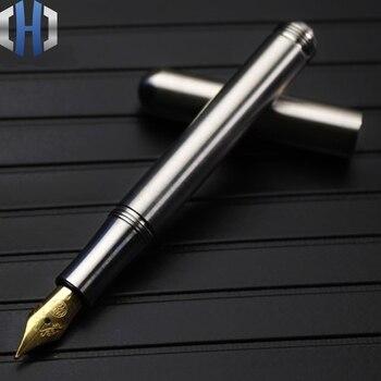 Тактическая ручка из титанового сплава Мини компактная портативная металлическая ручка деловая ручка