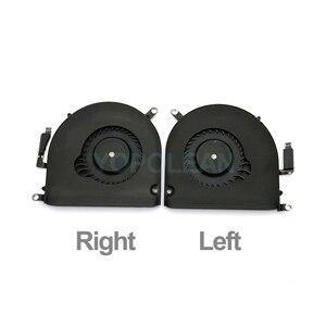 """Image 2 - オリジナルa1398 左右cpuクーラー冷却ファンのmacbook proの網膜 15 """"A1398 mid 2012 早期 2013 年"""