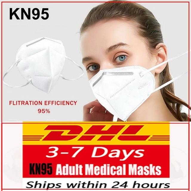 FFP3 mascarilla Anti-dust Mouth Face Mask Dust anti Flu Filter Masks ffp2 Mask N95 mascarilla Respirator DHL Shipping