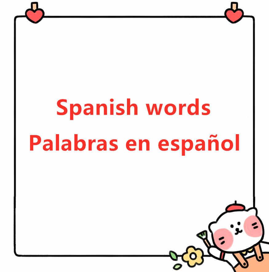 Podstawowe języka hiszpańskiego słowa do cięcia metalu umiera cięcia foremka szablon nowy 2019 dla diy scrapbookingu kart, dzięki czemu prace ręczne z papieru formy umiera