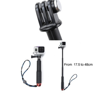 Image 5 - Gosear Onderwater Monopod Selfie Stick Pole & Polsband voor Gopro Go Pro Hero 5 4 3 plus 2 Sjcam Xiaomi yi 4k Action Camera